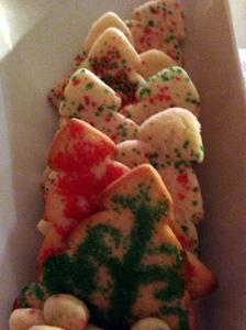 lovely tree sugar cookies...