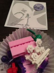 final batch of Lego pieces...