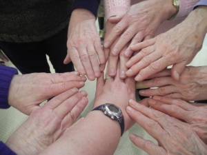 the hands of the women who know my heart...
