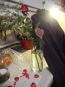 Valentine rose...