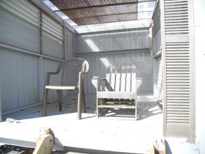 Kingfisher Spa Massage Hut on the beach...