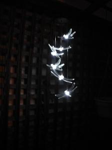 dragonfly solar lights...
