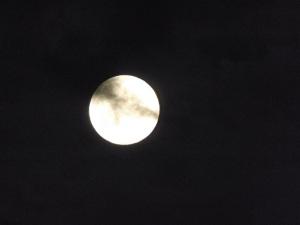 full moon last night...