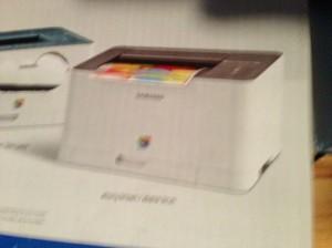 new printer...