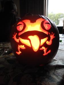 pretty cool pumpkin...