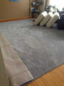 empty living room...