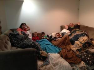 sleepover party...