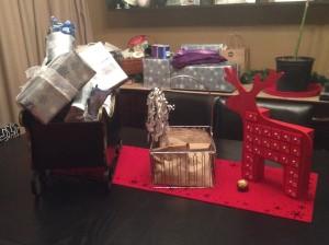 sleigh full of presents...