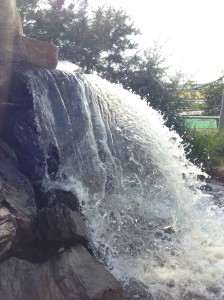 waterfall at Thunder Rapids...